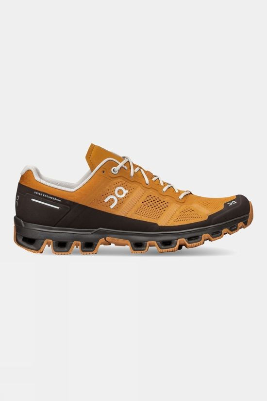On Men's Cloudventure Running Shoe Pecan/Brown