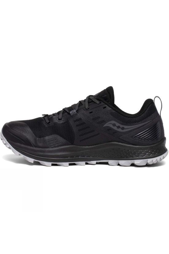 Saucony Mens Peregrine 10 Shoe Black/Red