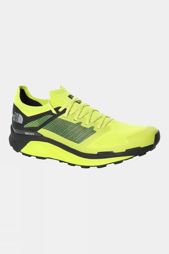 The North Face Mens Flight Vectiv Shoe Sulphur Spring Green/TNF Black