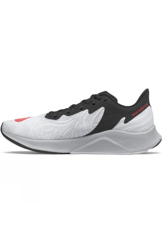 New Balance Men's FuelCell Prism White/Neo Flame/Black