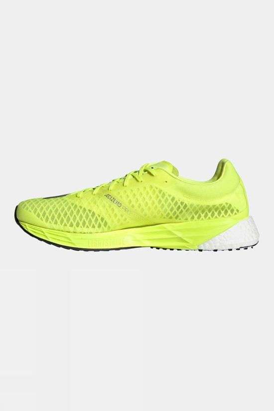 Adidas Men's Adizero PRO Solar Yellow/Core Black/Ftwr White