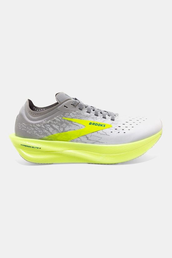 Brooks Unisex Hyperion Elite 2 White/Silver/Nightlife