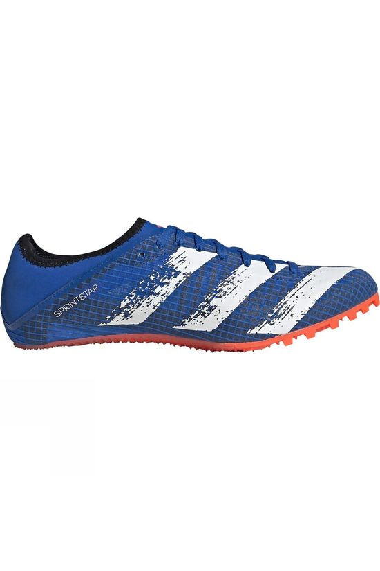 Adidas Mens Sprintstar Glory blue/core wht/solar red