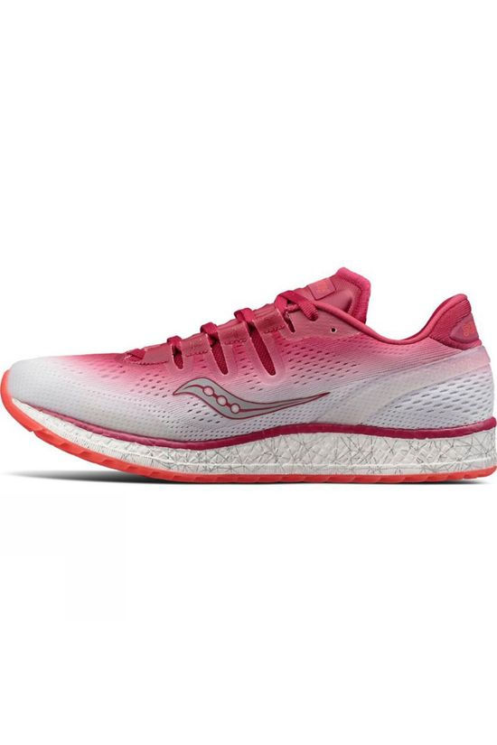Saucony Womens Freedom ISO Shoe Berry/White