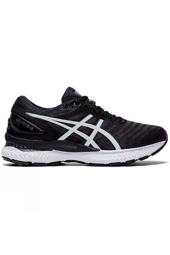 Asics Women's Gel-Nimbus 22 BLACK/WHITE