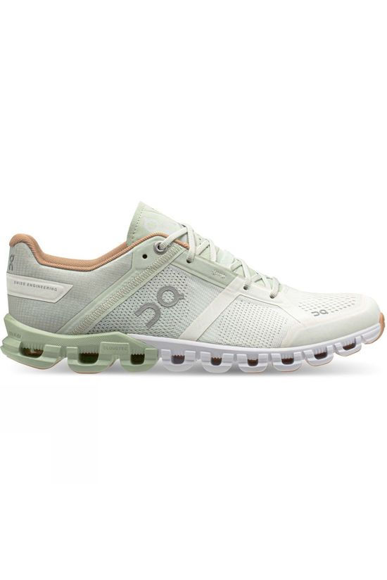 On Women's Cloudflow Aloe/White