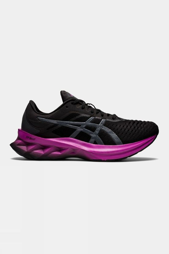Asics Womens Novablast Black/Carrier Grey