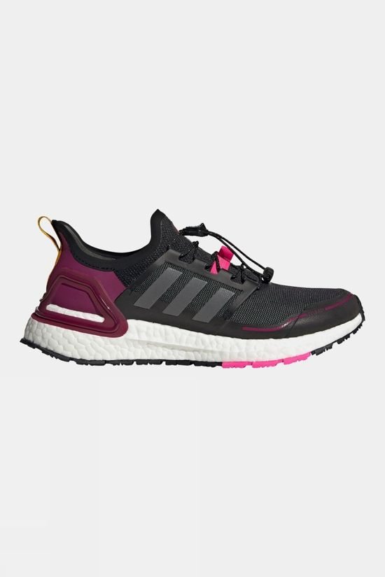 Adidas Womens Ultraboost Winter RDY Core Black/Iron Metallic/Power Berry
