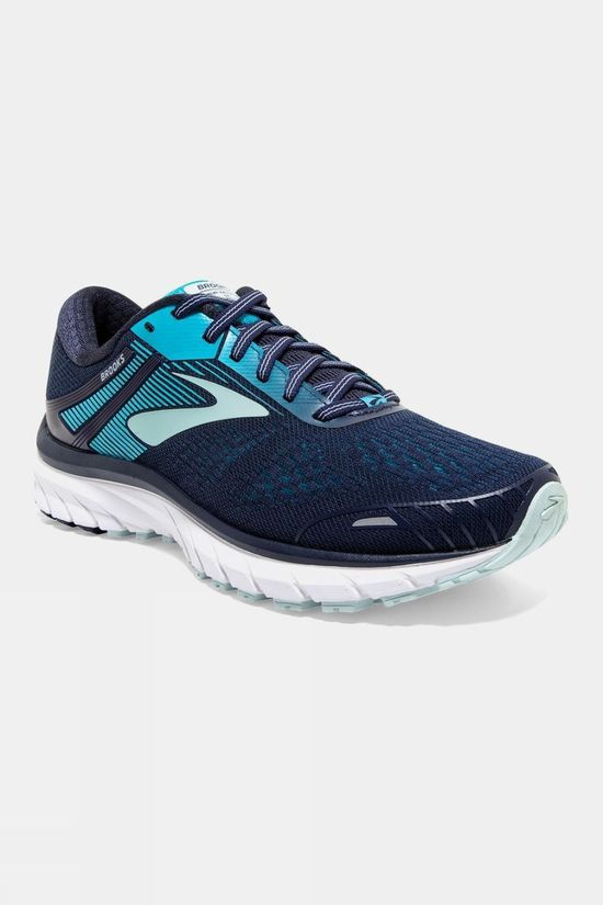 Brooks Womens Defyance 11 Narrow Navy/Teal/White