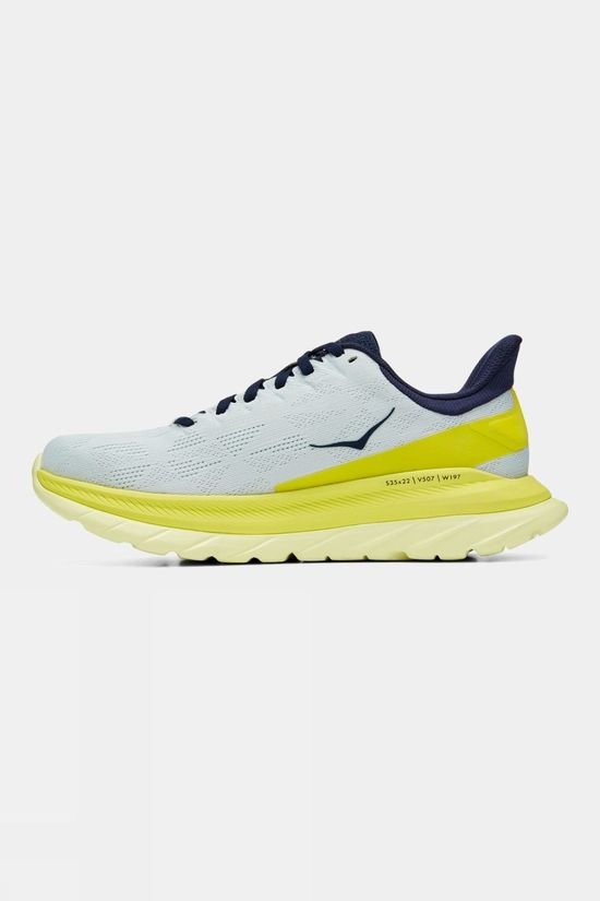 Hoka One One Women's Mach 4 Blue Flower/Citrus