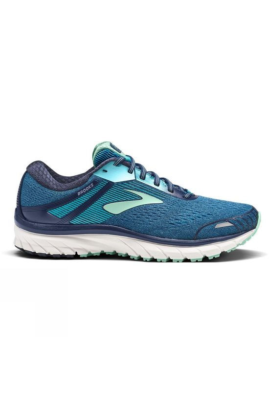 Brooks Women's Adrenaline GTS 18 Wide Navy/Teal/Mint
