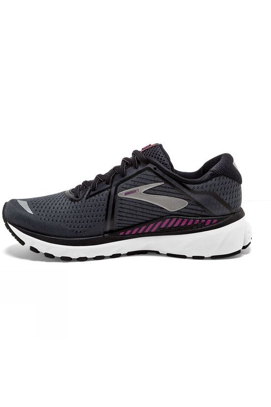 Brooks Women's Adrenaline GTS 20 Wide Black/White/Hollyhock