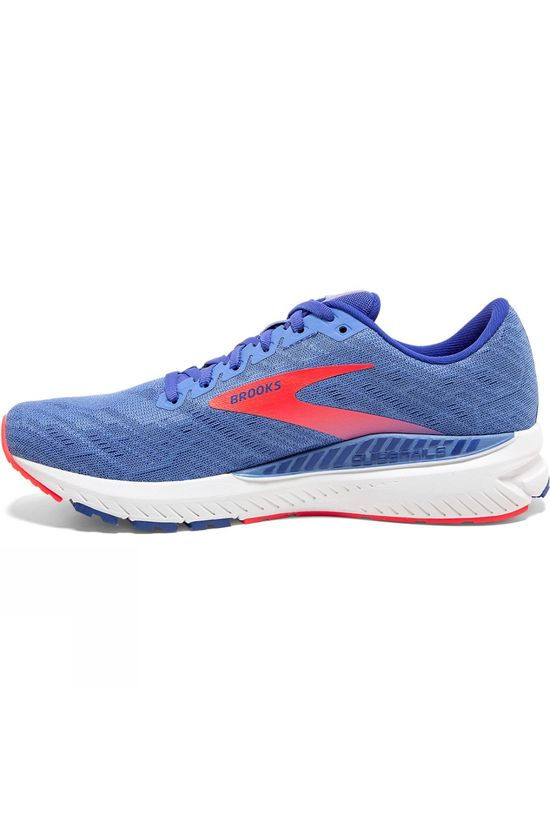 Brooks Women's Ravenna 11 Cornflower/Blue/Coral