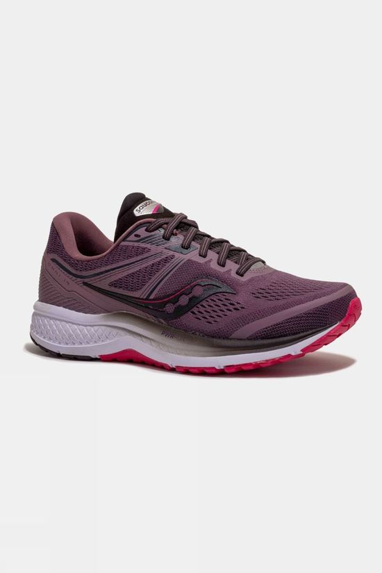 Saucony Womens Omni 19 DUSK/BERRY