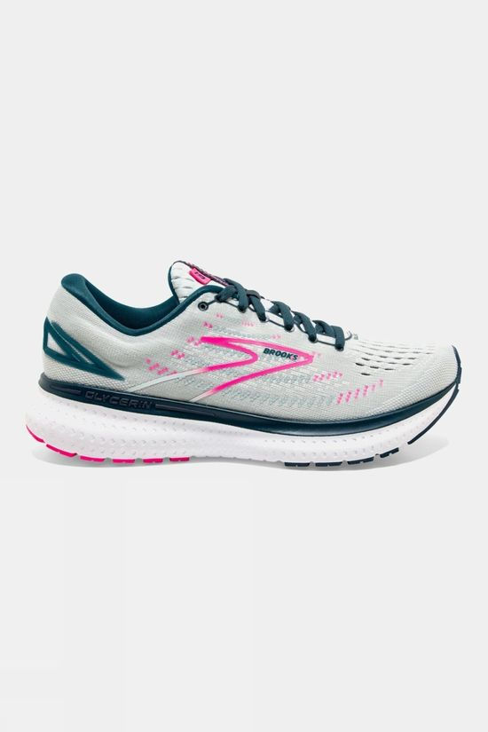 Brooks Women's Glycerin 19 Wide Ice Flow/Navy/Pink