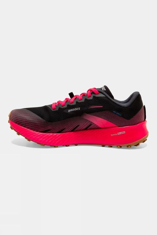 Brooks Womens Catamount Black/Pink