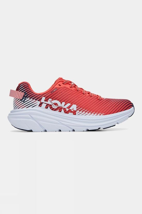 Hoka One One Women's Rincon 2 Hot Coral/ White