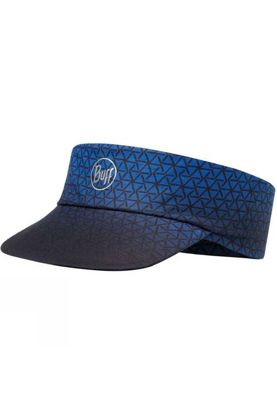 Buff Mens Pack Run Visor R- Equalateral Cape Blue