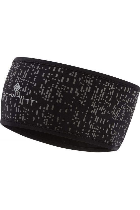 Ronhill Night Runner Headband Black/Reflect