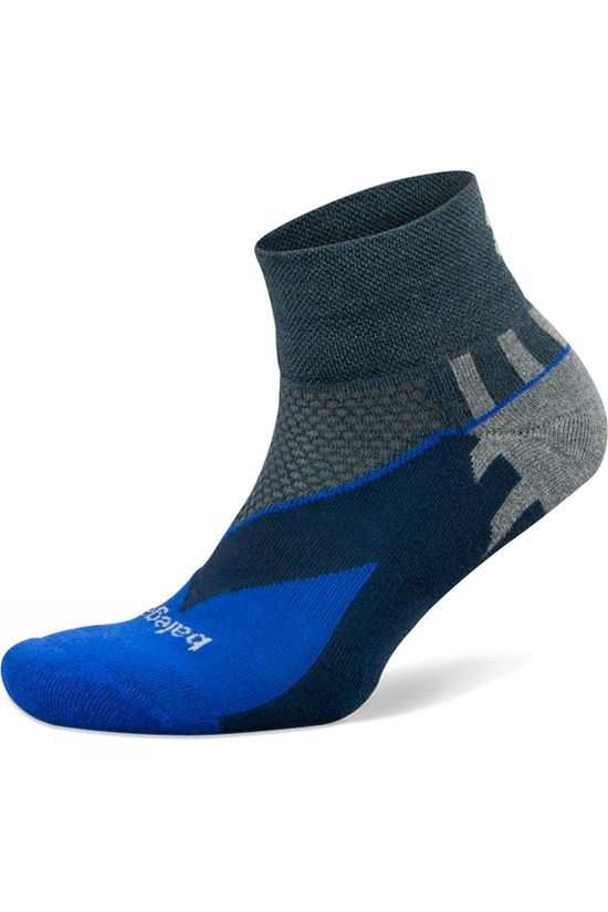 Balega Enduro V Tech Quarter Charcoal/Cobalt