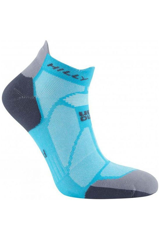 Hilly Womens Marathon Fresh Socklet Peacock/Charcoal