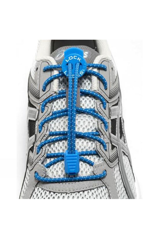 Nathan Run Lock Laces Royal Blue