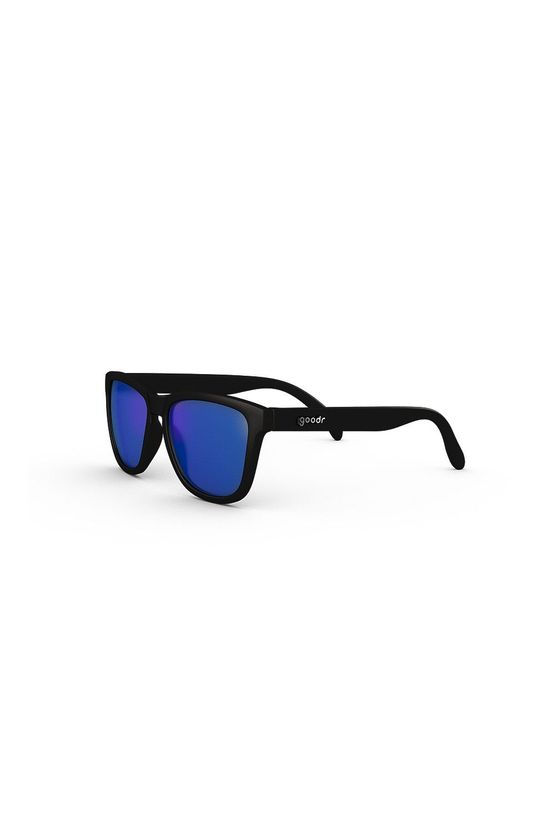 Goodr Mick and Keith's Midnight Ramble Black with Blue Lens