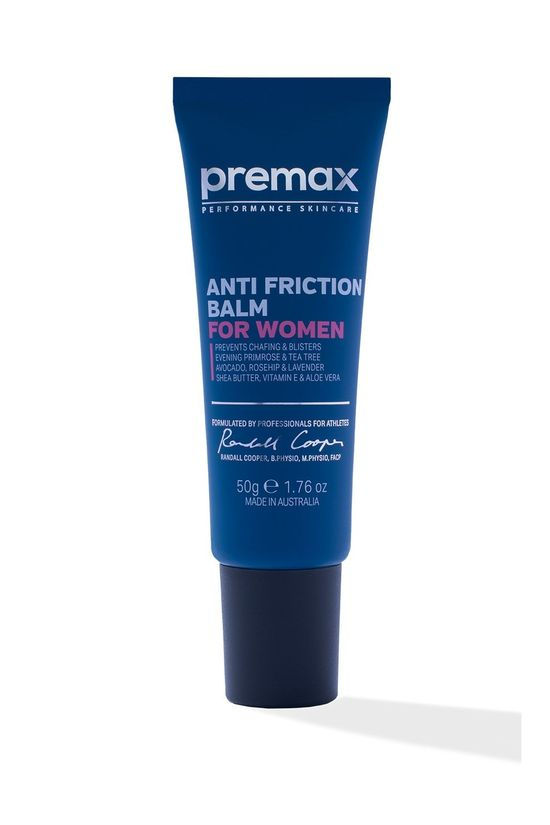 Premax Anti-Friction Balm for Women 50g   Blue/White