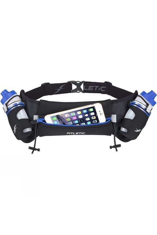 Fitletic Hydra 16oz Hydration Belt Black/Blue
