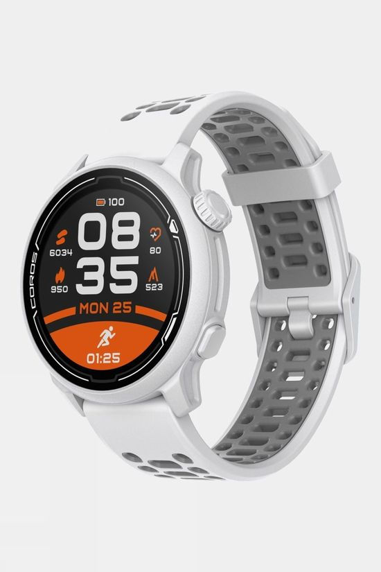 Coros Pace 2 Premium GPS Sport Watch with Silicone Strap White