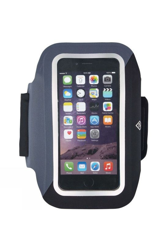 Ronhill Larger Phone Armband Black/Charcoal