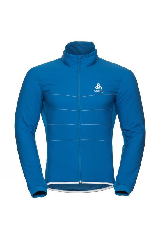 Odlo Mens Zeroweight S-Thermic Cycling Jacket Directoire Blue