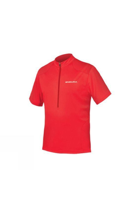 Endura Mens Hummvee Short Sleeve Jersey Red