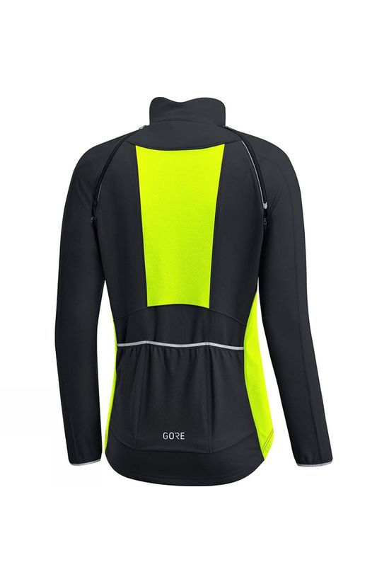 Gore Bikewear Womens Phantom GWS Zip Off Jacket Yellow/Black
