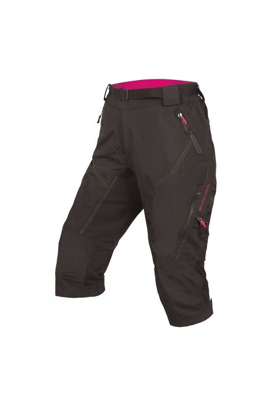 Endura Womens Hummvee 3/4 II Trousers Black
