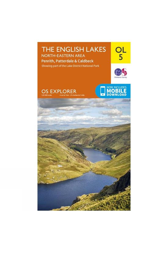 Ordnance Survey Explorer Map OL5 The Lake District - North-Eastern Area V16