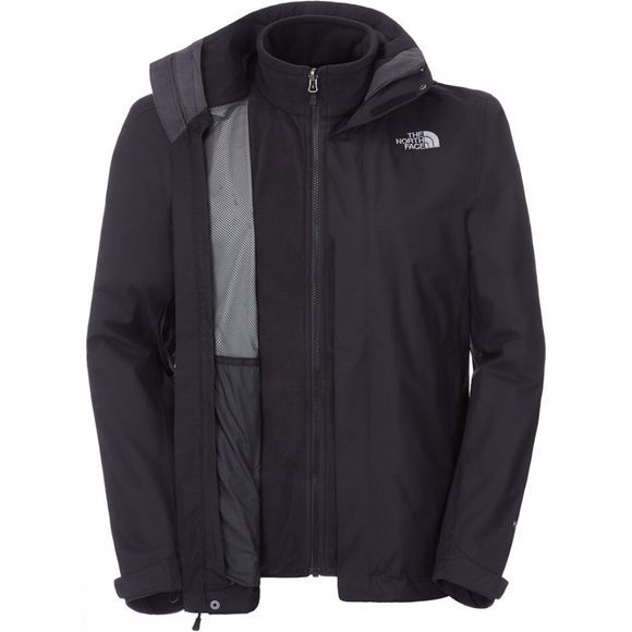 The North Face Mens Evolution II Triclimate Jacket TNF Black