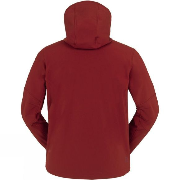 Ayacucho Mens Sunderland Softshell Jacket Deep Red