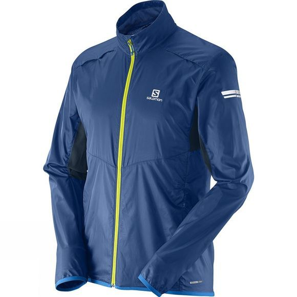Salomon Mens Agile Jacket Midnight Blue / Big Blue-X