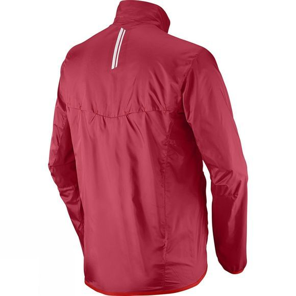 Salomon Mens Agile Jacket Victory Red