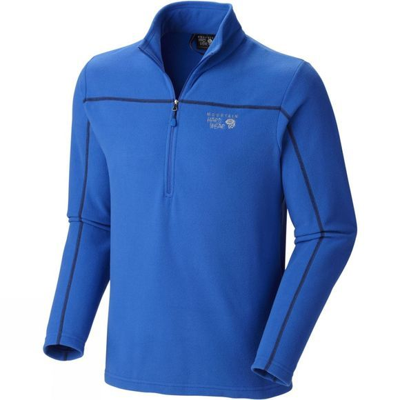 Mountain Hardwear Mens Microchill Zip Top Azul