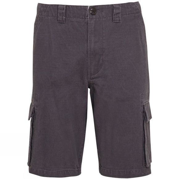 Weird Fish Mens Nazca Cargo Shorts Dark Gull Grey