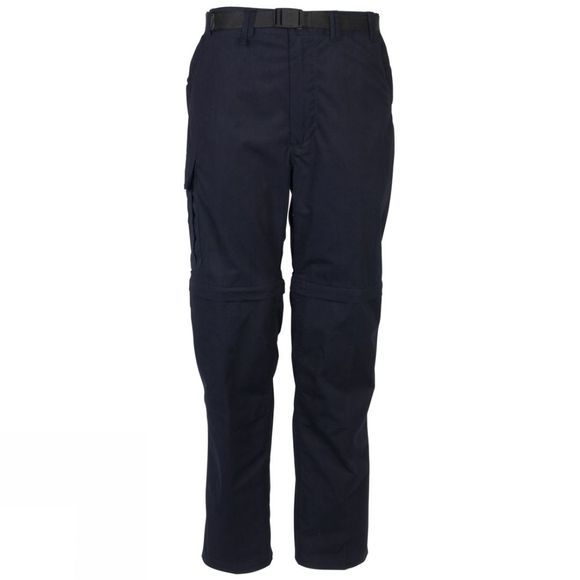 Craghoppers Mens Kiwi Zip-Off Trousers Dark Navy