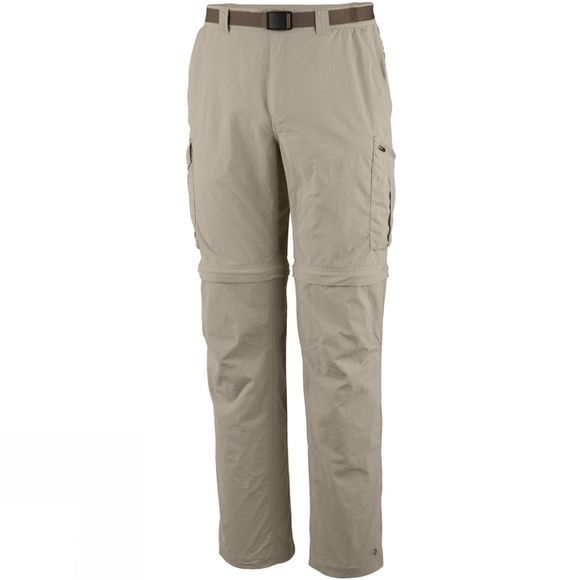 Columbia Mens Silver Ridge Convertible Pants Fossil