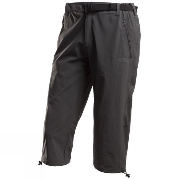 Regatta Mens Xert Stretch Capris Ebony