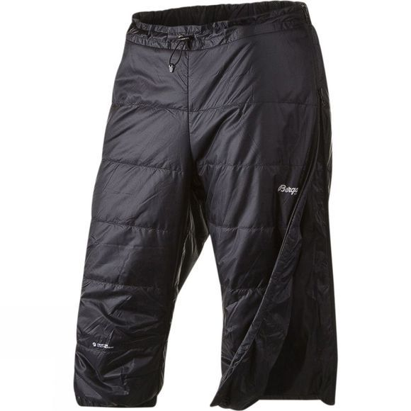 Bergans Mens Mjølkedalstind Insulated 3/4 Pants Black