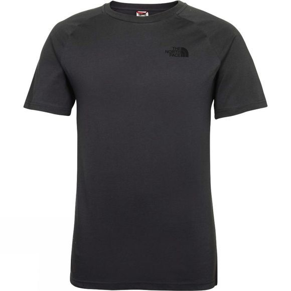 The North Face Mens Short Sleeve North Faces Tee Asphalt Grey