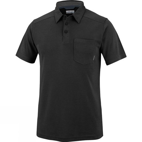 Columbia Men's Sun Ridge II Novelty Polo Black
