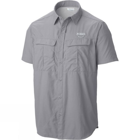 Columbia Men's Cascades Explorer Short Sleeve Shirt Columbia Grey