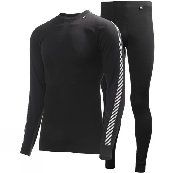Helly Hansen Mens Lifa Twin Pack Black